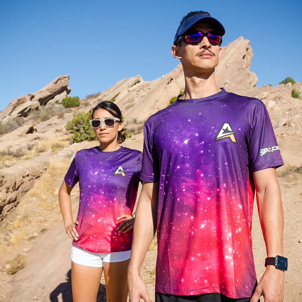 SPACEROCK Galaxy Shirt